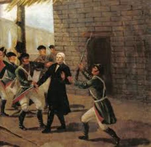 Morelos cae prisionero en Temalaca.