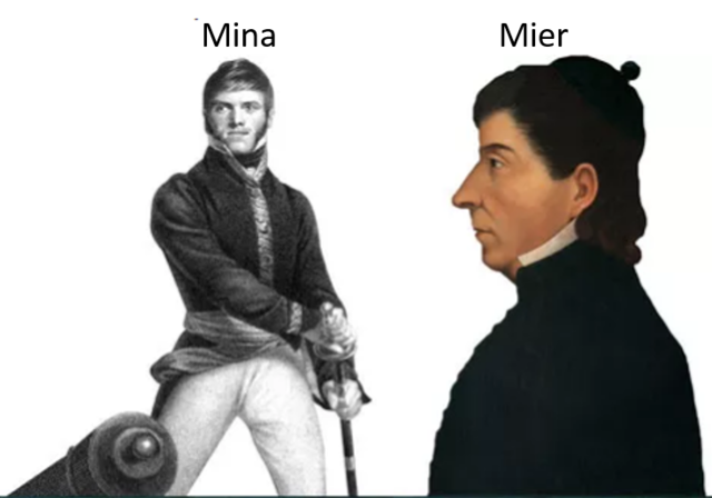 Xavier Mina y fray Servando Teresa de Mier zarpan de Liverpool rumbo a América.