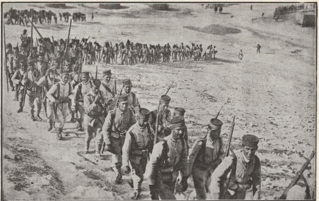 Mina y 300 soldados avanzan al interior del país