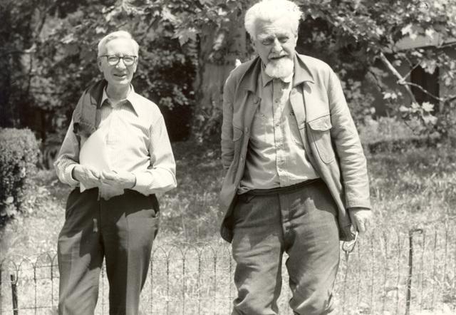 Konrad Lorenz y  N. Timbergen
