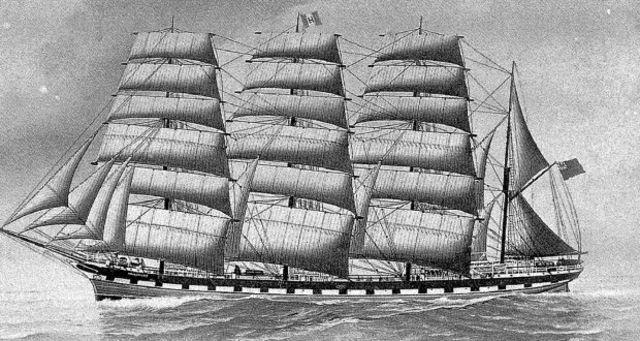 The last ship to arrive in Australia