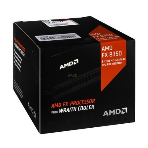 AMD FX Series FX-8350 4.0Ghz 8X con Wraith cooler