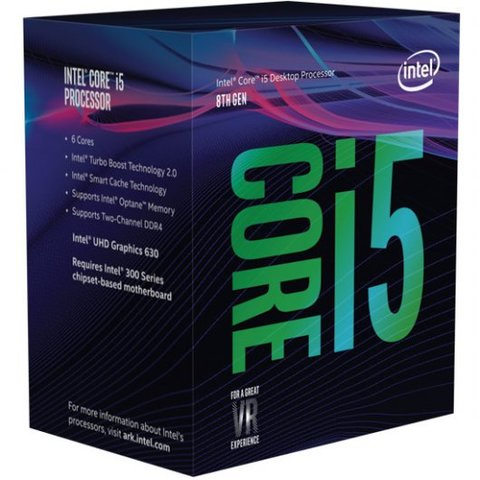 Procesador Intel Core i5-8500 3GHz Box