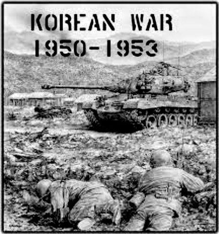 Koreakrigen bryter ut