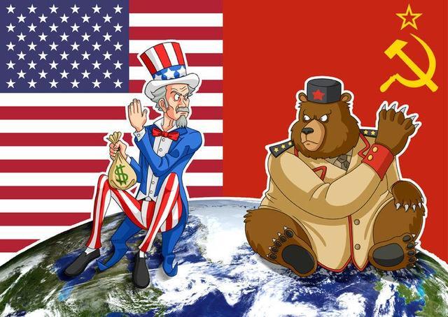 USA og Sovjetunionen blander seg inn i krigen