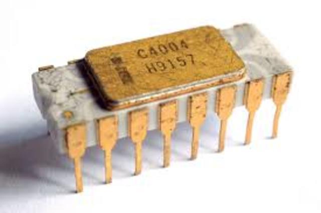 Microprocesador Chip 4004