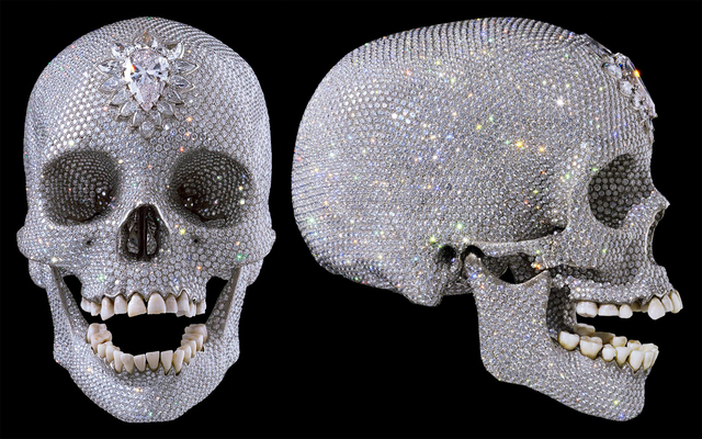 For the Love of God / diamond set skull - Damien HIRST
