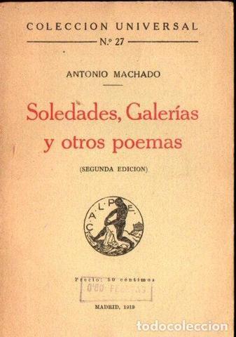 """""""Soledades, Galerías y otros poemas"""""""