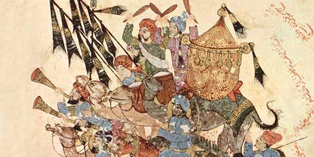 La invasión musulmana