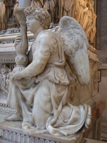 Angel by Michelangelo