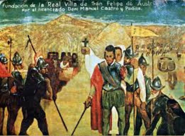Fundación de la ciudad de Oruro