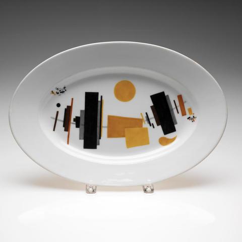 CLA: Suprematist platter by K. Malevich