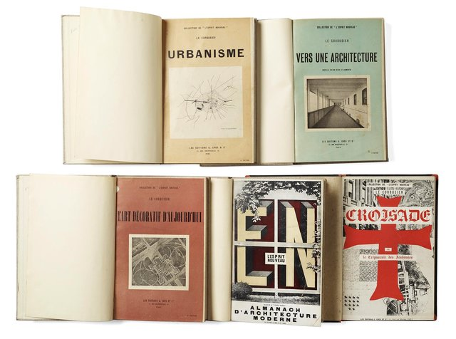 ICO: Book Collection by Le Corbusier