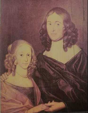 Anne and William Shakespeare's baby girl.