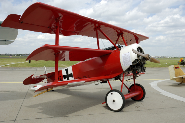 Fokker Dr.I, Red Baron aircraft