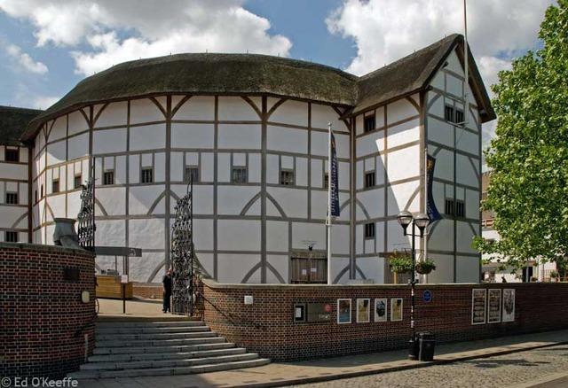 The Globe, a new theatre.
