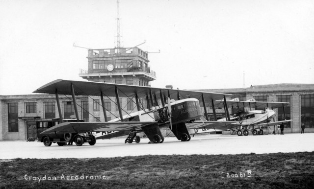 London Croydon airport starts operations
