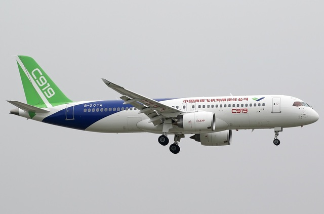 Chinese C919 to enter service
