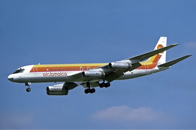 Douglas DC-8 first flight