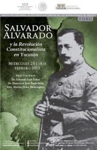 Ley del trabajo de Salvador Alvarado
