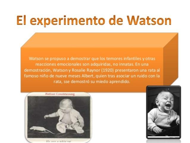 Teoria Conductista - Watson