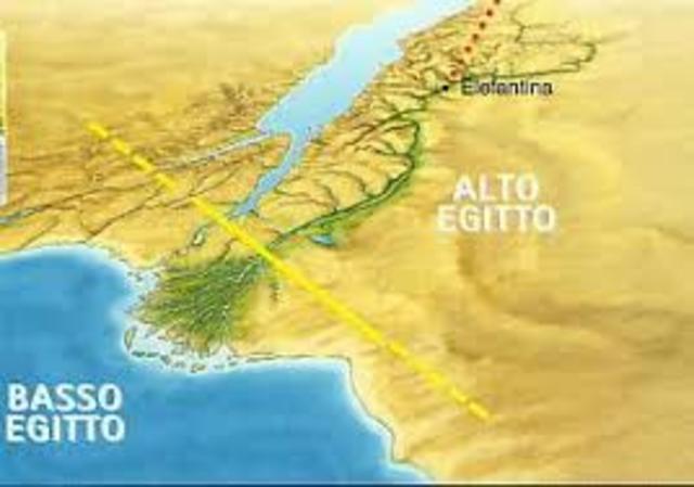 UNIFICAZIONE DI ALTO E BASSO EGITTO (MENES)