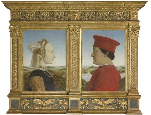 PIERO - I duchi di Urbino Federico da Montefeltro e Battista Sforza