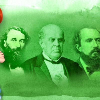 Presidencias históricas argentinas. timeline