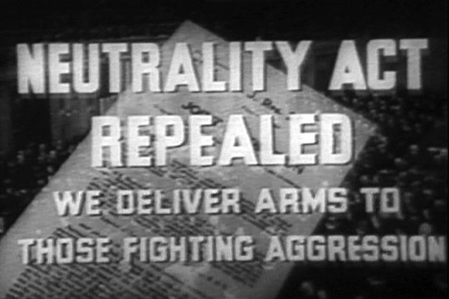 The neutrality acts of the 1930s