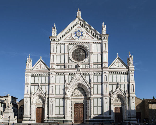 FACCIATA Basilica di Santa Croce