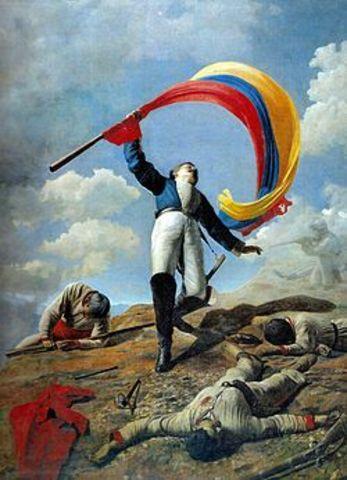 La independencia  de Venezuela