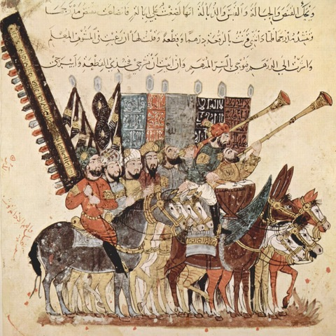 Se funda la dinastía omeya en Siria