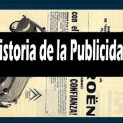 HISTORIA DE LA PUBLICIDAD timeline