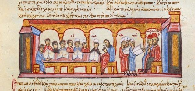 Escuela bizantina.