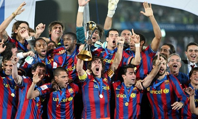 He won FIFA Club World Cup with FCB