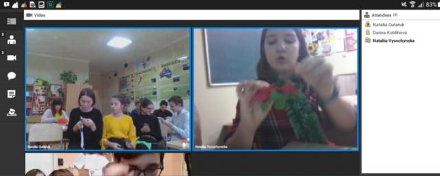 "Master class ""Flower Poinsettia"""