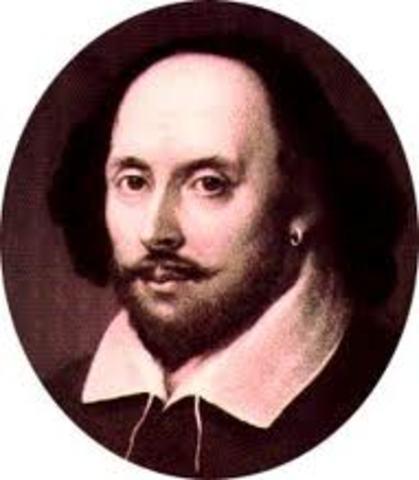 William Shakespeare dies.