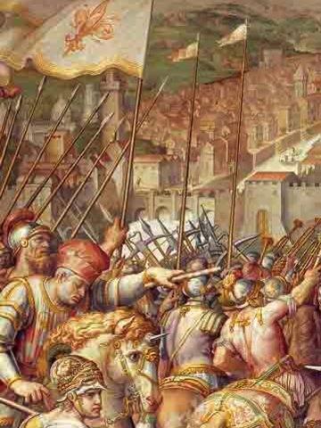 Firenze conquista PISA