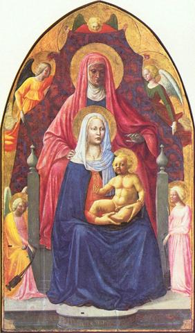 MASACCIO - Sant'Anna Metterza