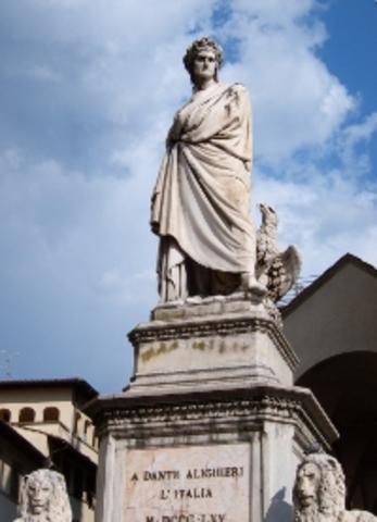 Enrico PAZZI - Statua di DANTE