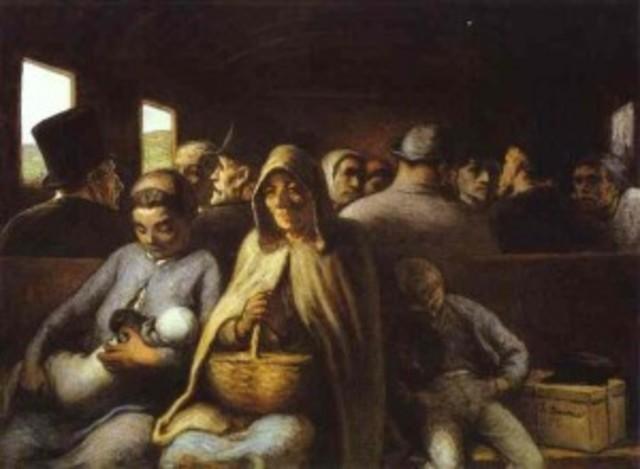 El vagó de tercera - Daumier
