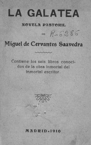 LA GALATEA 1585