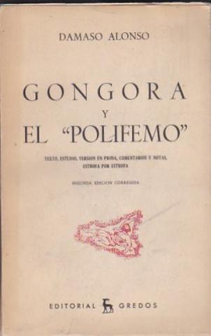 OBRAS DE GONGORA POLIFEMO 1612