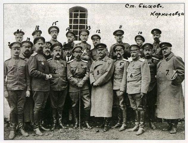 GOLPE DE ESTADO DEL GENERAL KORNILOV: