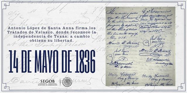 14 de mayo de 1836