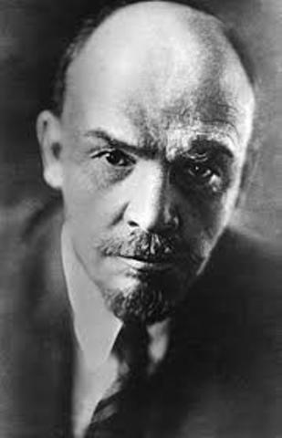 Vladímir Ilich Uliánov, Lenin