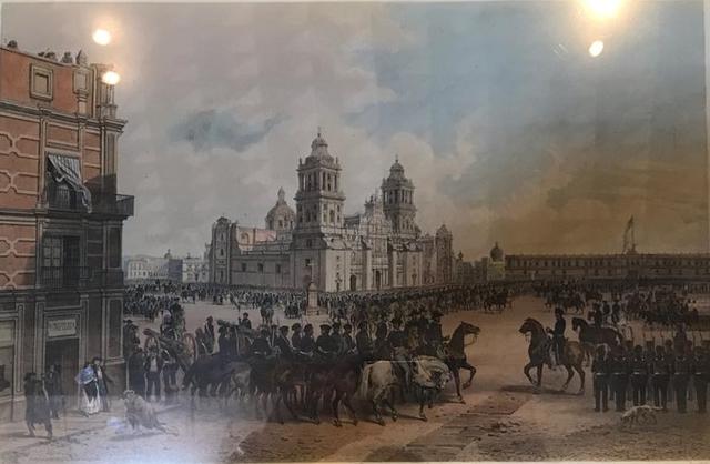 Los norteamericanos entraron a la Ciudad de México