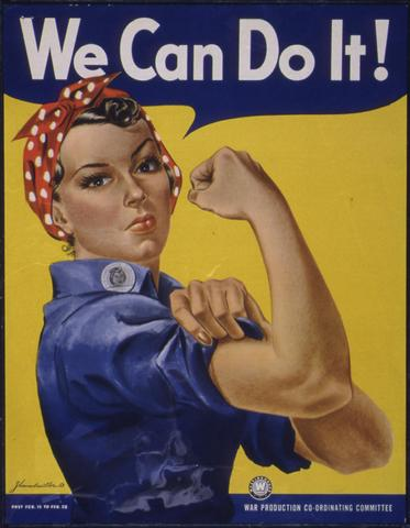 Rosie the Riveter and Other War Images