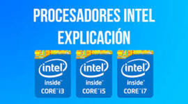 Procesadores Intel timeline