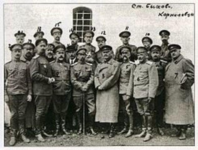 Intento de golpe de estado de Kornilov